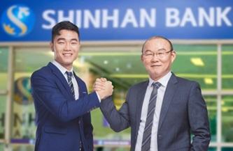 Ngân hàng Shinhan chọn HLV Park Hang-Seo và Xuân Trường làm đại sứ để lan tỏa khát vọng vươn tới những mục tiêu lớn
