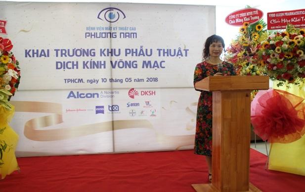 Khai trương phòng mổ tối ưu tại bệnh viện Mắt kỹ thuật cao Phương Nam