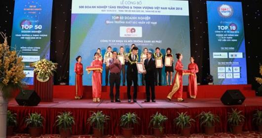 Giải mã những yếu tố giúp An Phat Plastic lọt Top 50 doanh nghiệp tăng trưởng xuất sắc nhất Việt Nam