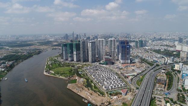 Thị trường bất động sản quận 2: Thu hút các dự án lớn