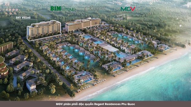 Địa ốc MGV phân phối độc quyền Sky Villas - Regent Residences Phu Quoc