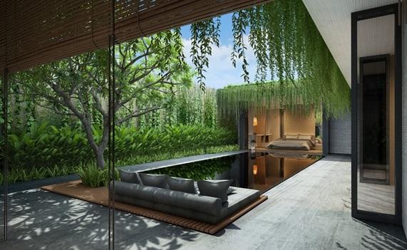 Đầu tư cho thuê biệt thự nghỉ dưỡng kiến trúc Go Green
