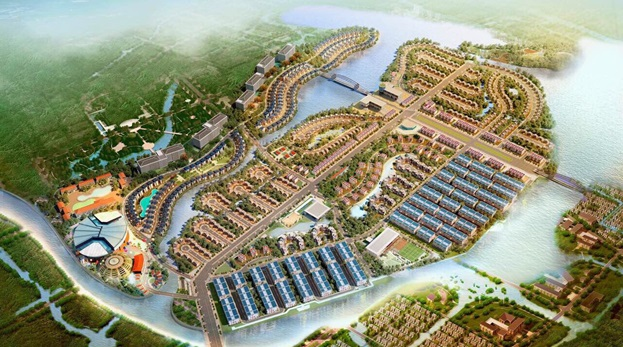 Tinh hoa văn hóa Chăm tái hiện tại Eco Charm Premier Island Đà Nẵng