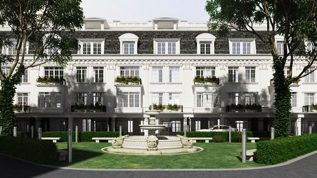 Porte De Ville – biệt thự phố không dành cho số đông