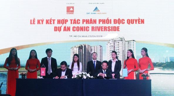 Chủ đầu tư Conic hợp tác cùng Đất Xanh Miền Nam triển khai dự án Conic Riverside