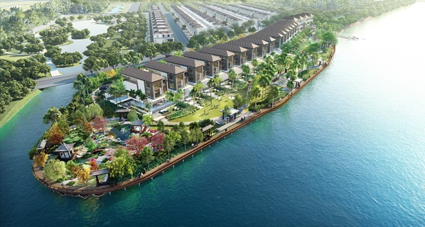 Biệt thự biệt lập ven sông Lavila De Rio dự án hấp dẫn giữa lòng Nam Sài Gòn