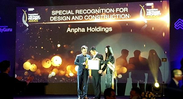 Anpha Holdings ấn tượng với nhiều giải thưởng Vietnam Properties Awards