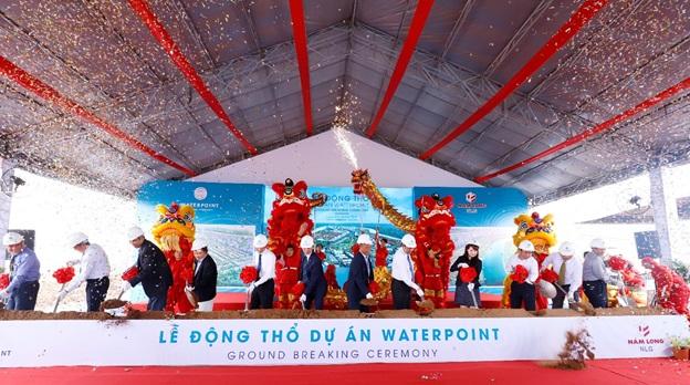 Nam Long động thổ đô thị Waterpoint 355ha