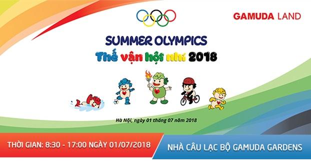 """Thế vận hội nhí """"Gamuda – Summer Olympics 2018"""""""