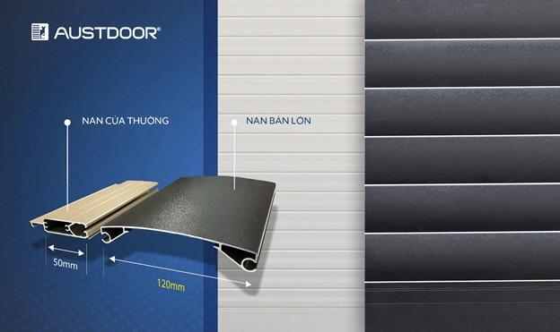 Austdoor ra mắt sản phẩm mới, đột phá độ lớn nan cửa cuốn