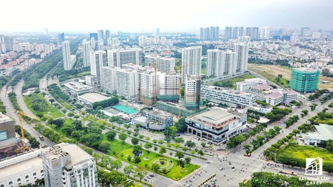 Đô thị Nam Sài Gòn đang tăng tốc phát triển