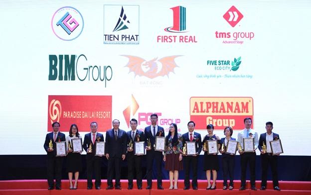 First Real vinh danh TOP 10 Nhà đầu tư – phát triển Bất động sản xuất sắc Việt Nam 2018