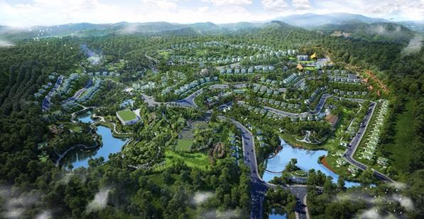 Ra mắt khu nghỉ dưỡng sinh thái kiểu mẫu tại Hoà Bình
