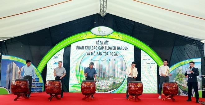 Sức hút mạnh mẽ từ dự án Hồng Hà Eco City trong ngày ra mắt
