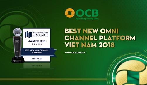 """IFM vinh danh OCB là ngân hàng có """"Nền tảng kênh OMNI mới tốt nhất Việt Nam"""""""