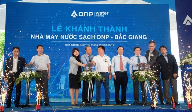 Nhà máy nước sạch nghìn tỷ DNP – Bắc Giang chính thức khánh thành, bắt đầu vận hành phát nước