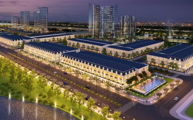 Homeland Group cho ra mắt dự án Khu phố thương mại Châu Âu Shophouse