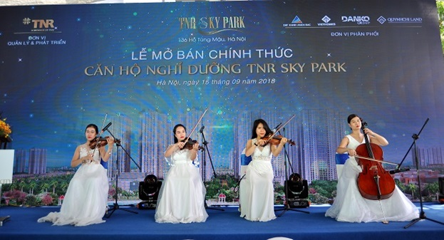 TNR Sky Park chính thức mở bán thu hút thị trường phía Tây Hà Nội
