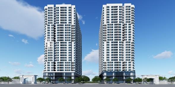 Căn hộ cao cấp 75m2 ở trung tâm Hà Nội chỉ với 1,9 tỷ đồng