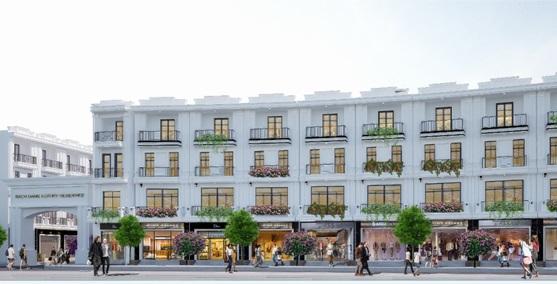 Hải Phòng có thêm khu nhà phố thương mại cao cấp