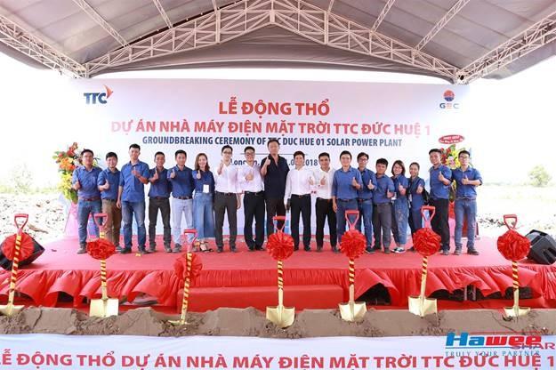 Hawee IDC làm tổng thầu EPC xây dựng nhà máy điện mặt trời tại Long An