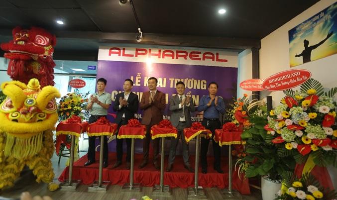 ALPHAREAL Khai Trương chi Nhánh Miền Bắc chuyên Phân phối BĐS Nghỉ dưỡng của tập đoàn Vingroup