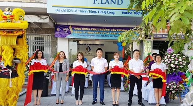 P.Land khai trương văn phòng đại diện tại Thành phố Hạ Long