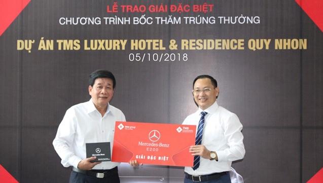 Mua căn hộ, nhận thưởng xe sang Mercedes hơn 2 tỷ đồng