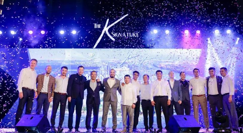 Kusto Home tổ chức sự kiện chúc mừng thành công rực rỡ dự án Diamond Island