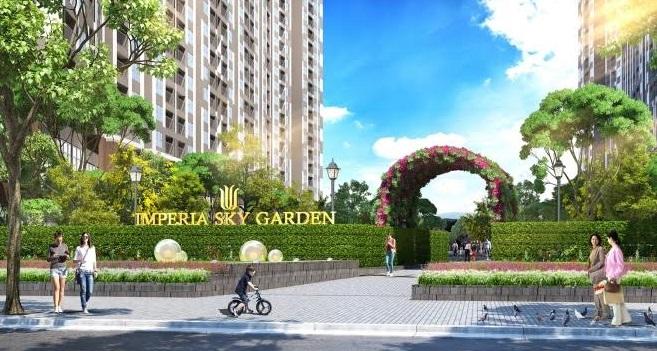 Sky C và Sky D dự án Imperia Sky Garden chính thức ra mắt
