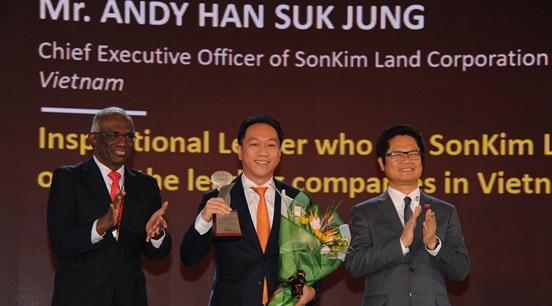 SonKim Land được vinh danh tại The Asia HRD Awards 2018