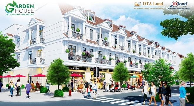 Dự án nhà phố sang trọng thu hút giới đầu tư Bắc Ninh