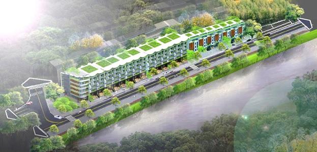 Shophouse 3 trong 1 thu hút giới đầu tư bất động sản Lào Cai