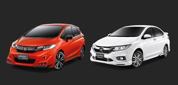 Honda Việt Nam giới thiệu 2 phiên bản giới hạn Honda Jazz RS Mugen và Honda City L Modulo