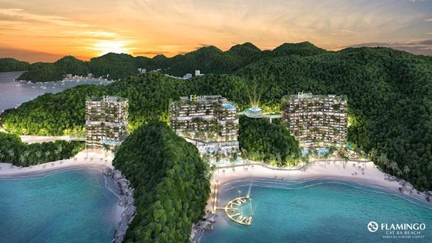 Khám phá quần thể nghỉ dưỡng quần đảo Cát Bà - Flamingo Cát Bà Beach Resort - ảnh 1