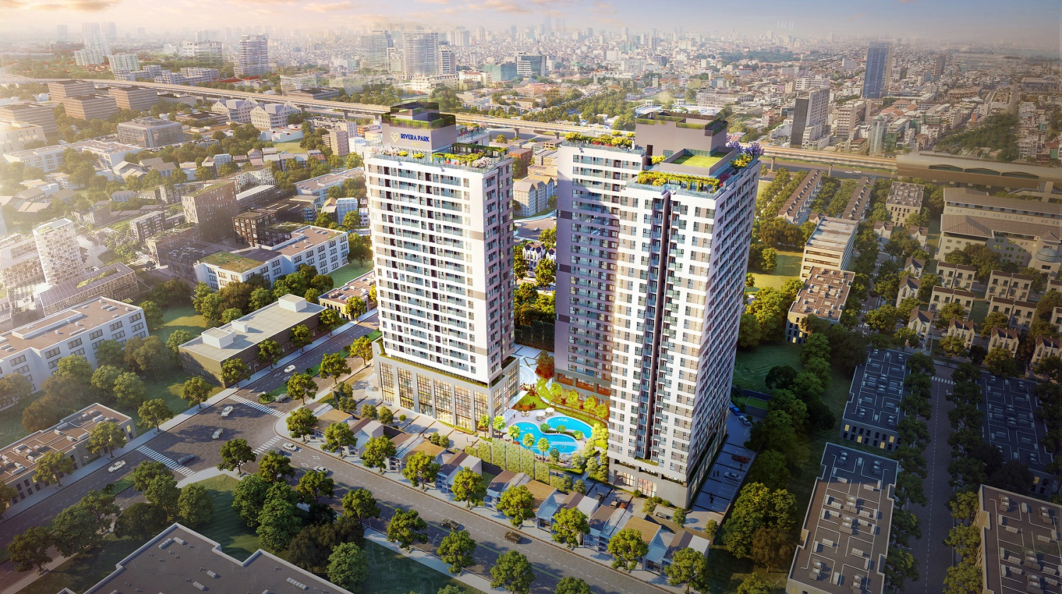 Where is the value of the project to & # 39; live in the Thanh Xuan area?