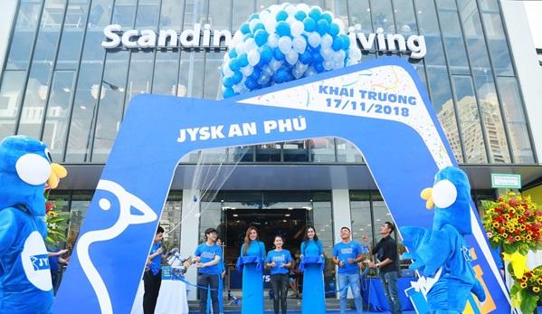 Thương hiệu nội thất Đan Mạch JYSK khai trương cửa hàng JYSK An Phú