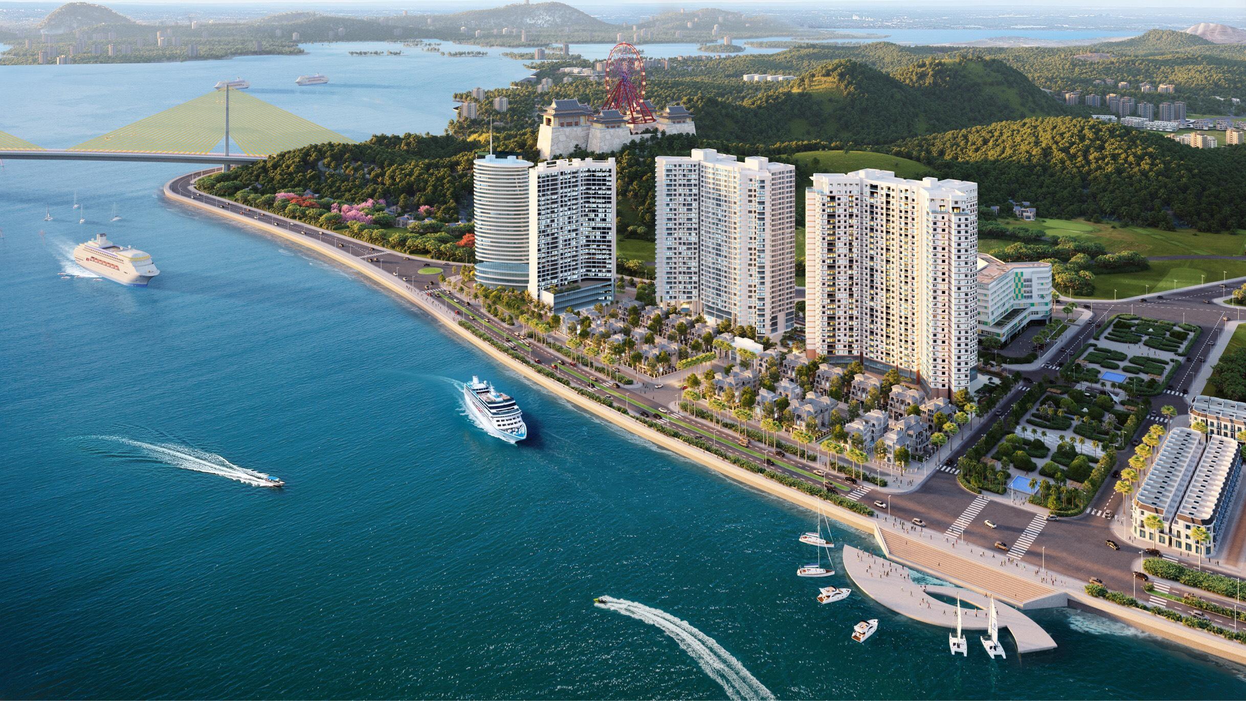 Kế cận dự án căn hộ nghỉ dưỡng thương hiệu 5 sao quốc tế, căn hộ The Sapphire Residence ngày càng hút khách