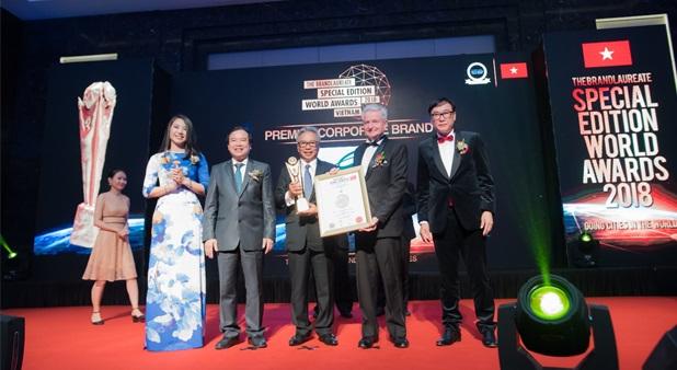 Ciputra Hanoi được vinh danh tại Giải thưởng Thương hiệu Xuất sắc Thế giới - BrandLaureate