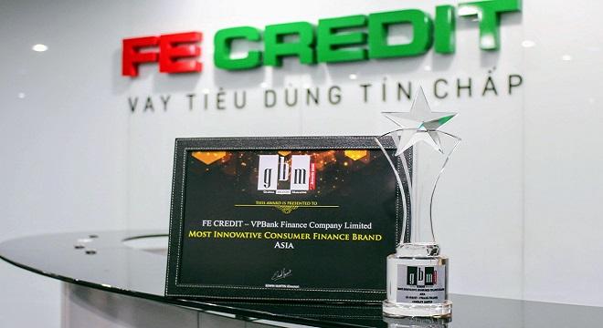 """FE CREDIT đạt giải """"Thương hiệu tài chính tiêu dùng đột phá nhất châu Á năm 2018"""""""