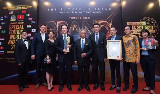 TGĐ Ciputra Hanoi tự hào khi được vinh danh ở giải thưởng The BrandLaureate