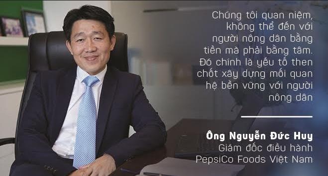 """CEO PepsiCo Foods Việt Nam: """"Không thể đến với người nông dân bằng tiền mà phải bằng tâm"""""""
