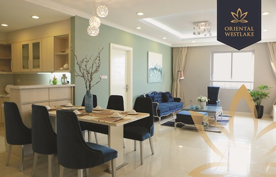 Cơ hội đầu tư hấp dẫn tại căn hộ ven hồ Tây Oriental Westlake