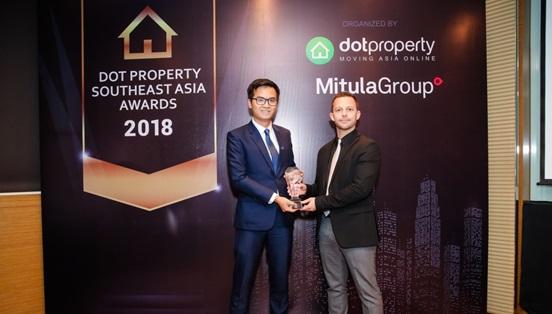 Đất Xanh Miền Trung vươn ra quốc tế với giải thưởng Dot Property Southeast Asia Award 2018