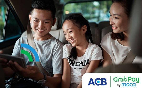 Ngập tràn ưu đãi dành cho chủ thẻ ACB khi dùng ví GrabPay by Moca