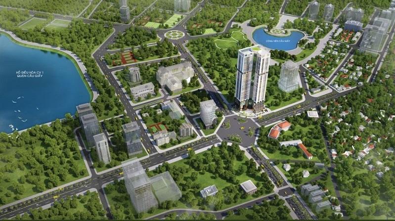 Golden Park Tower căn hộ hạng sang hấp dẫn tại quận Cầu Giấy