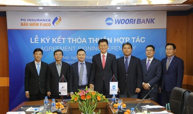 Bảo hiểm PJICO hợp tác cùng Ngân hàng Woori bank