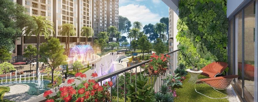 Thênh thang đường đến dự án Imperia Sky Garden