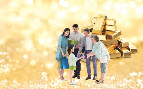 Đầu năm gửi tiền trúng lộc vàng