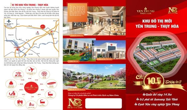 Khu đô thị mới Yên Trung Thụy Hòa ghi điểm, hút nhà đầu tư nhờ tiến độ vượt trội